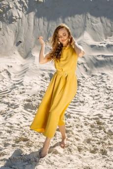 Платье 01-712 желтый Pur Pur