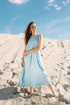 Платье 01-712-4 голубой Pur Pur