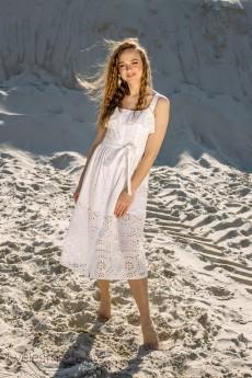 Платье 01-725-1 белый Pur Pur