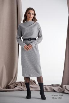 Платье 5081 серый RAMI