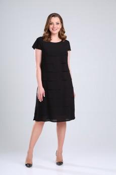 Платье 717 черный Rishelie
