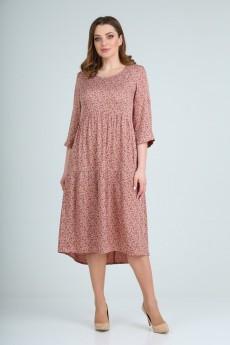 Платье 780 розовый Rishelie