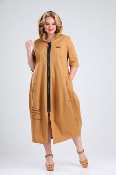 Платье 832 бежевый Rishelie