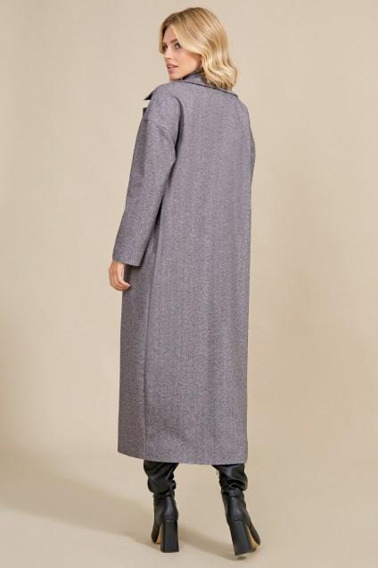 Пальто 1020 серый Rivoli