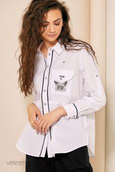 Блузка 2030 белый Rivoli