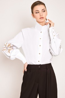 Блузка 2138 белый Rivoli