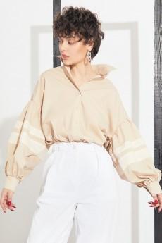 Блузка 2158 бежевый Rivoli