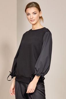 Блузка 3051 черный Rivoli
