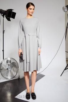 Платье 7054 серый Rivoli