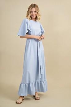 Платье 7075 небесный Rivoli