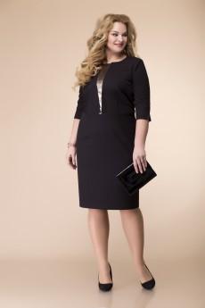 Платье 1-2097 черный Romanovich style