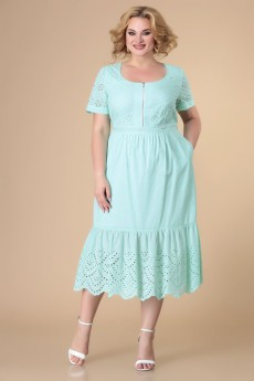 Платье 1-2145 мята Romanovich style