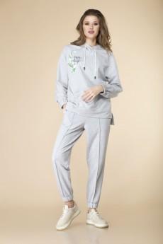 Спортивный костюм 2-2119 серый Romanovich style