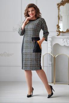 Платье 2012 серо-черный Rumoda