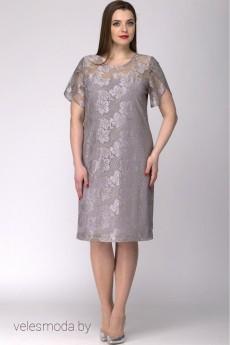 Платье 11015 серый SOVA