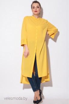 Рубашка 11089 желт SOVA