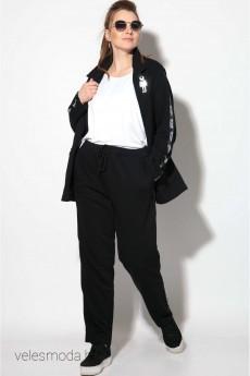 Спортивный костюм 11105 черный SOVA