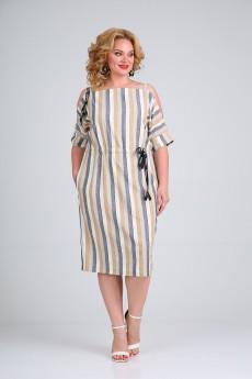 Платье 500 полоска SVT