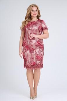 Платье 538 красный SVT