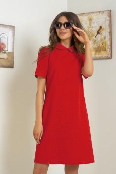 Платье 136 красный Samnari