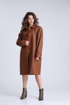 Плащ  13940 коричневый SandyNA
