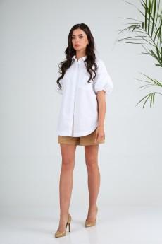 Блузка 13984 белый SandyNA