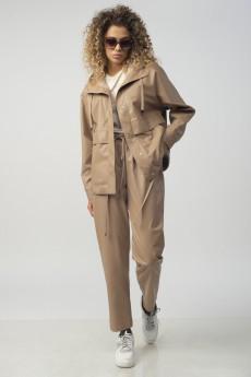 Куртка 7269 бежевый Сч@стье