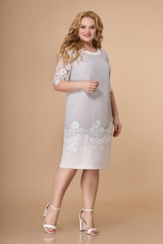Платье 1382 серый Svetlana Style