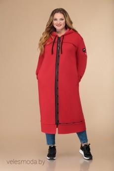 Пальто 1457 красный Svetlana Style