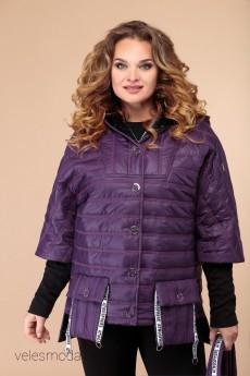 Куртка 1483 баклажан Svetlana Style