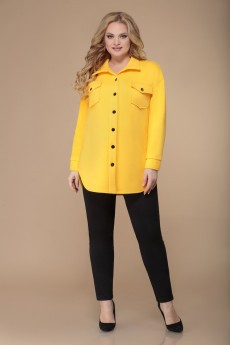 Жакет 1487 желтый Svetlana Style
