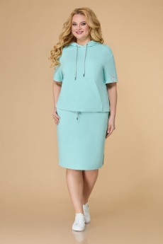 Костюм с юбкой 1503 мятный Svetlana Style