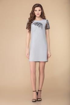 Платье 1538 серый Svetlana Style