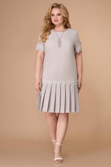 Платье 1539 серый Svetlana Style