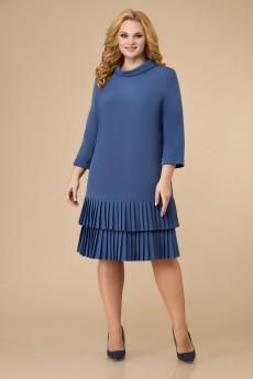Платье 1602 индиго Svetlana Style