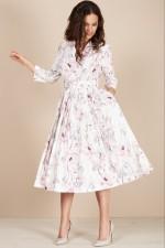 Платье 1425-1 молочный TEFFI Style