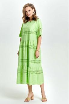 Платье 2636 салатовый TEZA