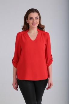 Блузка 677 красный TT collection
