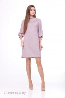 Платье 821 розовый ТАиЕР