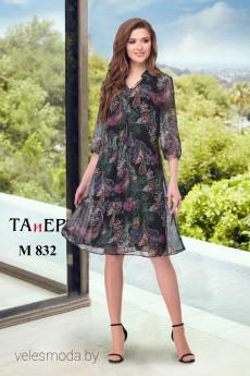 Платье 832 черный ТАиЕР