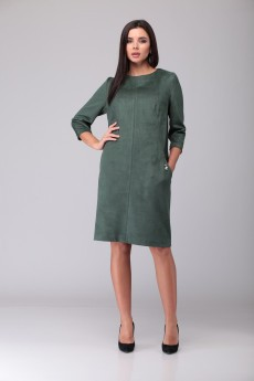 Платье 1087 малахит ТАиЕР