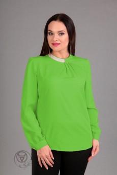Блузка 62203 салатовый Tair-Grand