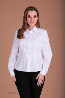 Блузка 62399 белый Tair-Grand