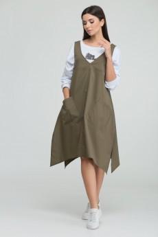 Платье 21-099 ТАККА Плюс