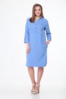 Платье 353 небесно-голубой Talia Fashion