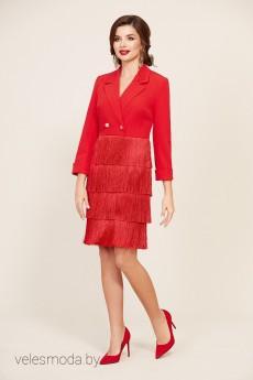 Платье 295 красный Temper