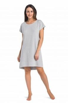 Ночная сорочка 2810 серый Teyli