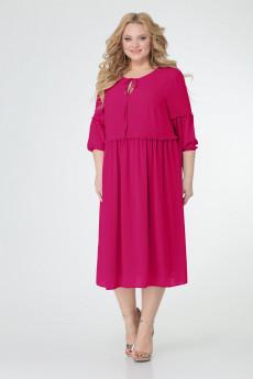 Платье 0121 малина TtricoTex Style