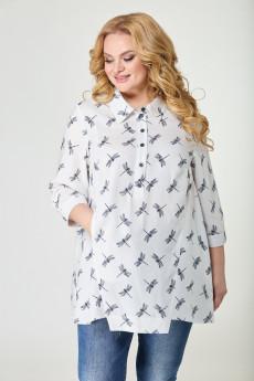 Блузка 22-21 стрекоза TtricoTex Style