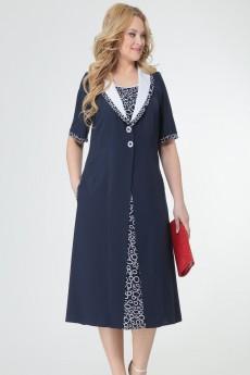 Платье 8317 синий TtricoTex Style